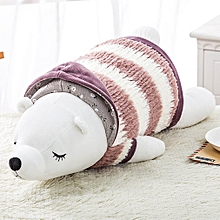 cartoon plush toy pillow cute polar bear doll lunch break sleeping pillow