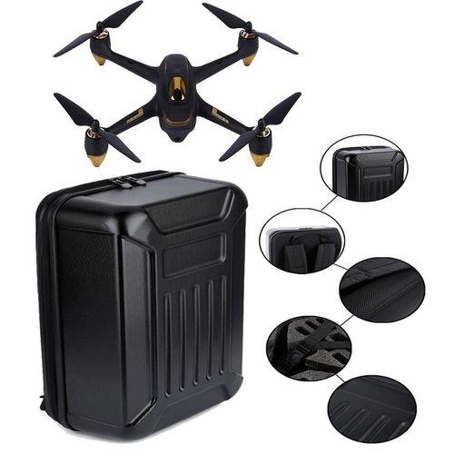 Black ABS Hard Shell Backpack Case Bag For Hubsan X4 H501S Quadcopter Black