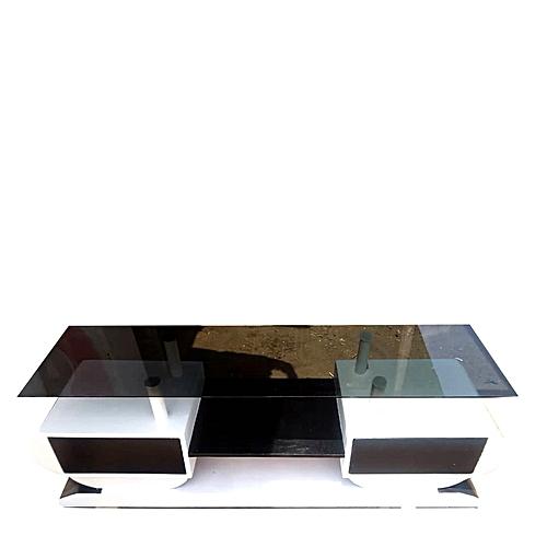 meubles pour tlvision blanc noir