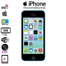 iphone 5c - 8 mégapixels - 1gb ram- 32gb -bleu / reconditionné- garantie 6 mois