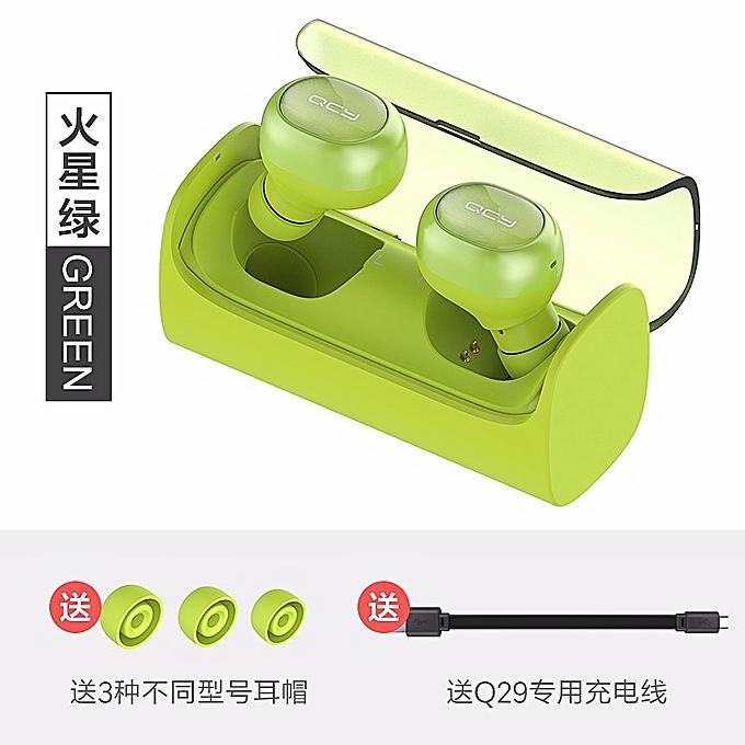 UNIVERSAL Mini Ecouteur Bluetooth 4.1 Avec Un Boîtier De Charge – Vert au Côte d'Ivoire à prix pas cher  | Promotion  Anniversaire