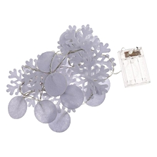 felt christmas tree deer snowflake ball led string light xmas party decoration fjmall