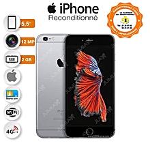 iphone 6s plus - 5.5 pouces -- 16 go - ram 2 go - wifi - space-gray - garantie 3 mois - reconditionné