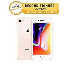 "iphone 8 - 4.7"" lcd rétina - touch id - ios 11 - 4g+3g - 12/5 mégapixels - 64 gb - or garantie 3 mois"