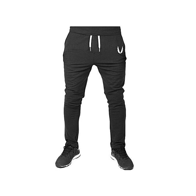 5d61b5c1ebf60 Fashion Pantalon Elastique Pour Fitness - Noir - Prix pas cher ...