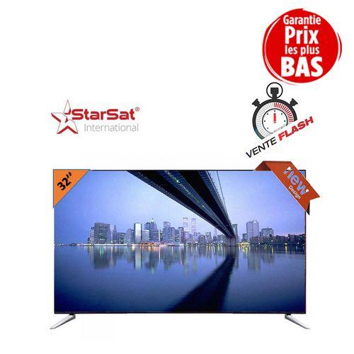 Star sat tv led 32 lest 2 32 pouces ultra slim avec - Tv avec decodeur satellite integre ...