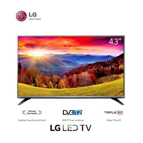 lg tv led 43lh543v 43 pouces full hd d codeur. Black Bedroom Furniture Sets. Home Design Ideas
