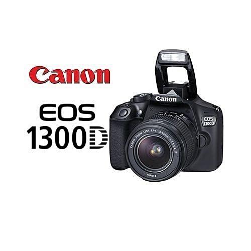 179d61f7ea526e Appareil Photo Caméra - 3 Pouces - EOS 1300D - 18 Mégapixels - Noir. Canon
