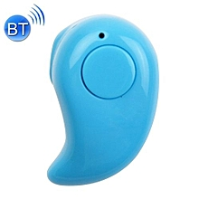 mini smooth surface stereo wireless bluetooth earphone, effective bluetooth distance: about 10m, for iphone, ipad, ipod, samsung, htc, sony, huawei, xiaomi and other audio devices(blue)