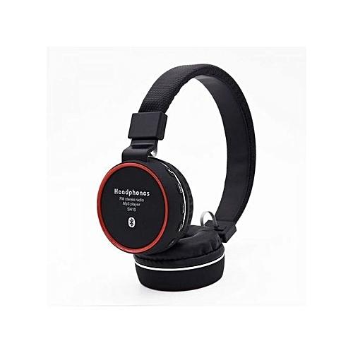 Generic Casque Bluetooth Sans Fil Ms 881f Avec Microphone Intégré