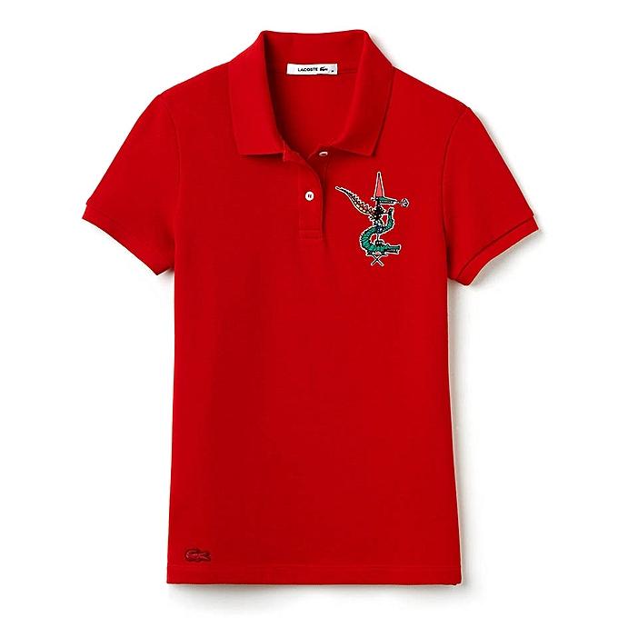 8db42fa722 LACOSTE Polo Homme Jean Paul Goude - Rouge - Prix pas cher | Jumia CI