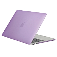 for 2016book pro 13.3 inch a1706 & a1708 laptop frosted texture pc protective case (purple)