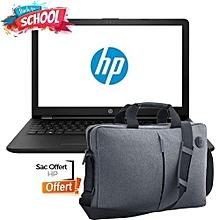 "laptop 15-ra000nk 15.6"" -  dualcore-n3060 - ram 4 go - 500 go - freedos- noir - sacoche hp offerte"
