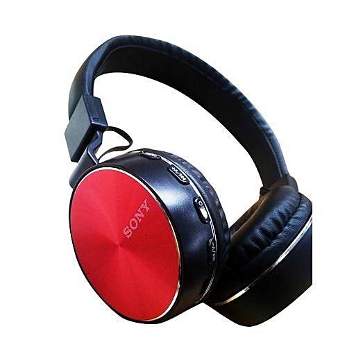 Generic Casque Audio Sony Bluetooth Noirrouge Prix Pas Cher