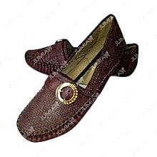 chaussure baladeuse - femme  - marron