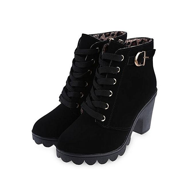 28300, Bottes Classiques Femme - Noir - Noir (Black), 36 EUHis