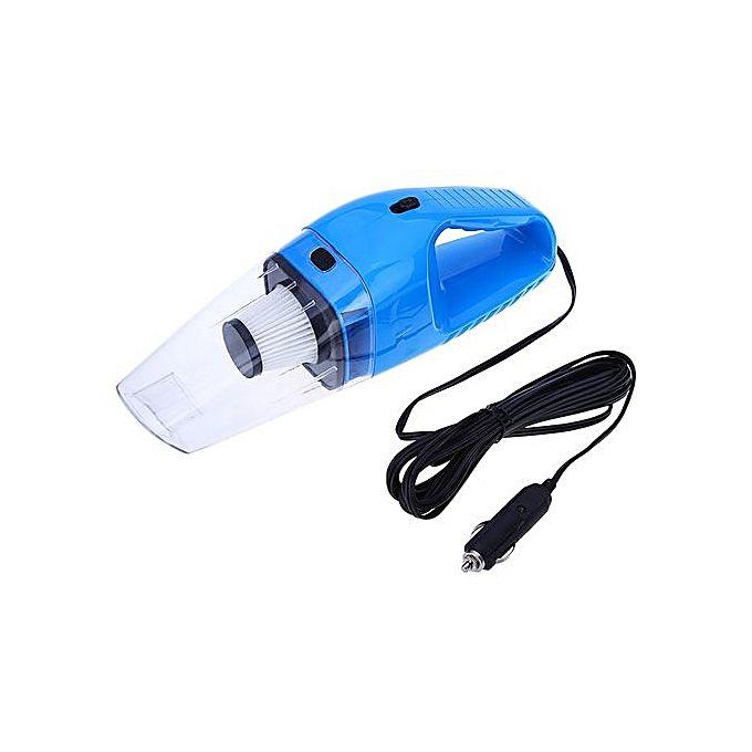 aspirateur pour voiture avec 5m de c ble 120w 12v bleu jumia c te d 39 ivoire. Black Bedroom Furniture Sets. Home Design Ideas