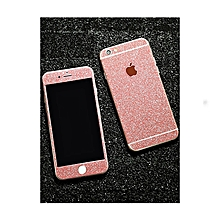 2pcs mikihome iphone 8/8 plus/7/7 plus/6s/6s plus/6/6 plus phone screen protector frosted front back film iphone 6plus/6s plus pink