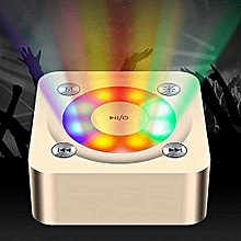 nice party light super bass speaker - dilake z2 christmas gift stereo wireless bluetooth sound activated colored led disco lights dj lights for festival bar club party karaoke outdoor android iphone