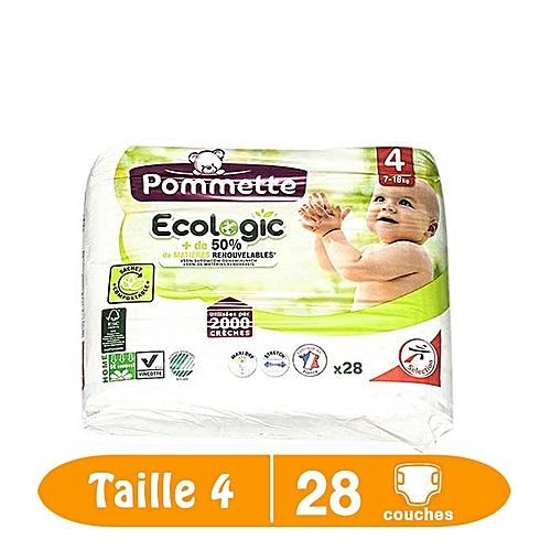 Pommette Produit Bébe Couches De Bébé Taille 4 7 18kg 28