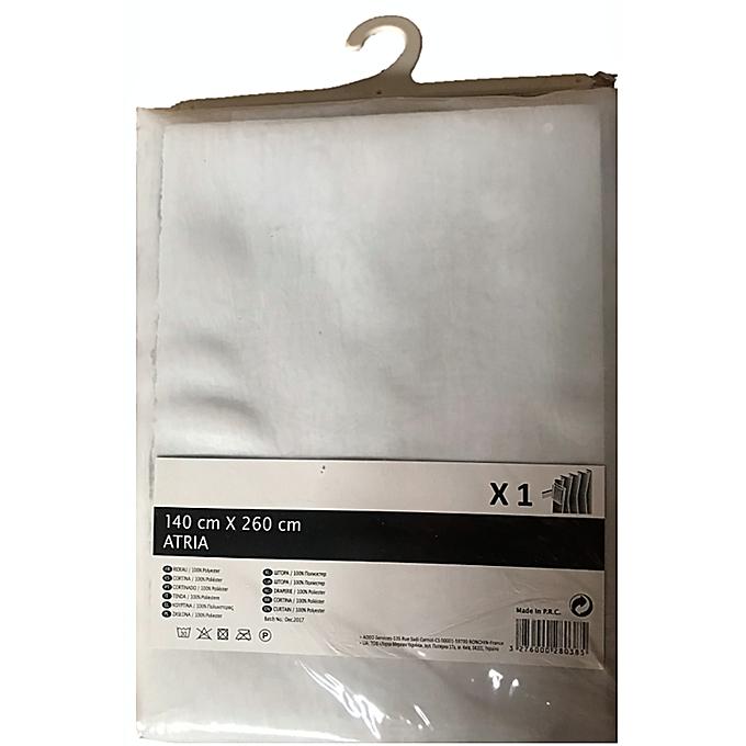 Leroy Merlin Rideau Voilage Blanc Atria Dim 140x260cm Finition
