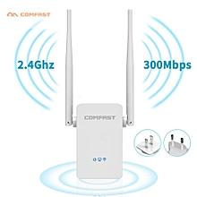 répéteur amplificateur point d'acces sans fil wifi 3 en 1- comfast cf-wr302s v2 -  blanc
