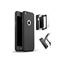 palmers coque compatible iphone 6 & iphone 6s complet 360º + antichoc - noir