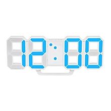 design moderne led numérique grand format montre horloge murale horloge accueil réveils white ts-s60-b