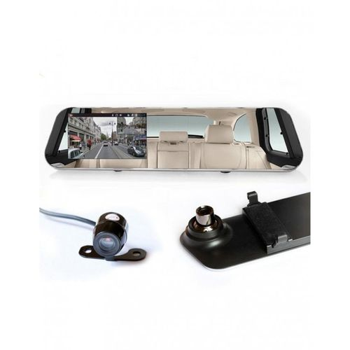 Dashboard Caméra de Voiture 4.3 Pouces Full HD 1080P - Noir