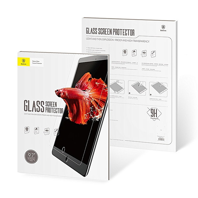 Baseus film de protection en verre tremp pour ipad pro 9 for Housse protection ipad 2