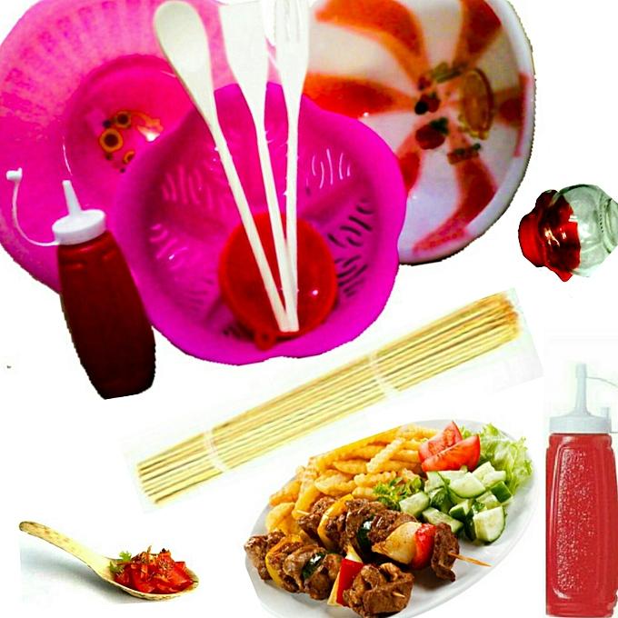 Accessoires En Folie Kit Accessoires Cuisines 10 Pièces – Multicolore au Côte d'Ivoire à prix pas cher  | Promotion  Anniversaire