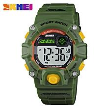 nouveaux enfants montres numérique montre-bracelet 50m étui en plastique étanche alarme garçons filles enfants montre