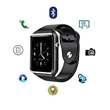 montre connectée eas xp2 - pour android - ios - bluetooth - carte sim - noir