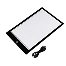 acrylic 5mm super thin a4 size led drawing copy tracing stencil board table