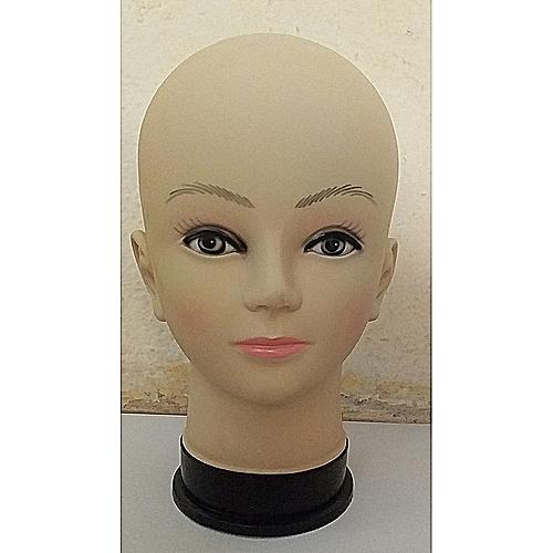 Tete De Mannequin Femme En Plastique Pour