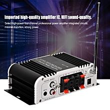 (gold certified qianmei) hifi fm radio super bass car audio amplifier sd usb dvd mp3 player