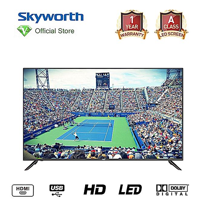 skyworth tv led 40 pouces fhd r solution audio st r o noir garantie 12 mois prix pas. Black Bedroom Furniture Sets. Home Design Ideas