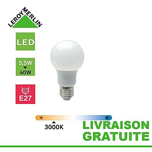 Économie D'énergie 5 E27 Standard Led Ampoule 5w470lméquiv 40w3000k R5A34jL