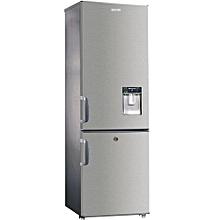 réfrigérateur combiné solstar rf 335 avec fontaine - capacité 335 litres - couleur inox