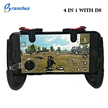 universal mobile joystick gamepad game phone controller fire buttons 5.0~6.0 inch mobile phone for android iphone ios gamepad fcshop