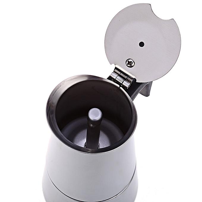generic percolateur caf en acier inoxydable 100ml argent au c te d 39 ivoire prix pas cher. Black Bedroom Furniture Sets. Home Design Ideas