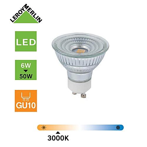 50w3000k Gu10 Ampoules 6w450lméquiv Led Spot D'énergie Économie 6 Pour sdBQtxrCh