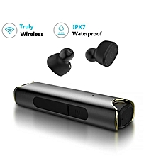 s2 true bluetooth earphones mini tws earbuds ipx7 waterproof stereo music headset for andorid and iphone dq-m