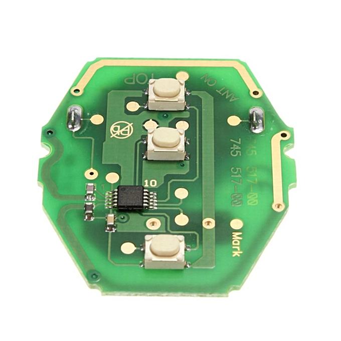 Universalremote Key Fob Keyless Entry 433mhz Transponder Chip For Bmw E46 E39 3 5 7 Z3 M3antivol