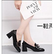 chaussures de cuir pour femmes