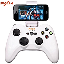 pxn-6603 mfi certified speedy wireless bluetooth game controller joystick vibration handle gamepad for iphone / ipad / ipod touch / apple tv ht