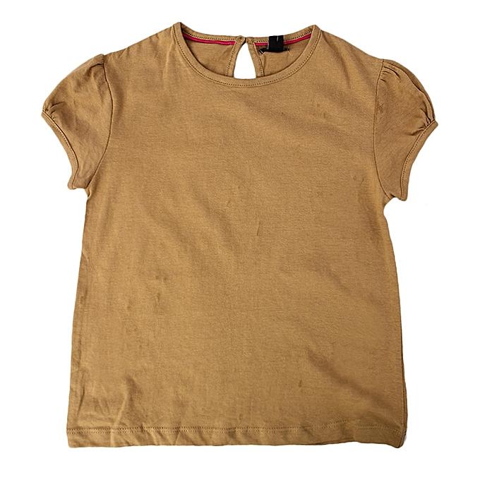 435daf2c339d2 Kiabi Tee-shirt - Fille - Kaki - Prix pas cher