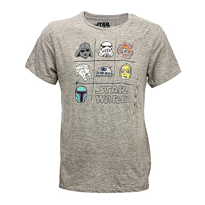 5e6ed930711 Kiabi Tee-Shirt Uni Homme - Gris - Prix pas cher