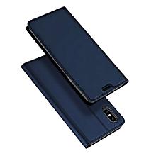 etui de protection pour iphone xs max - bleu - jgci