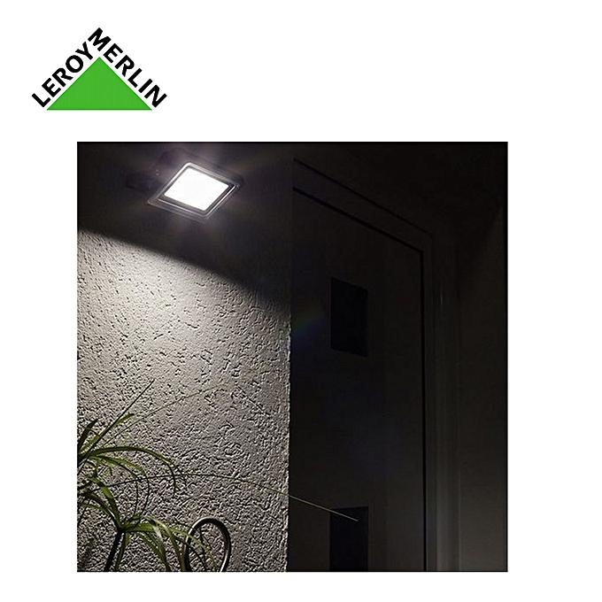 inspire by leroy merlin projecteur ext rieur yonkers larg 10cm ampoule led 10w fournie 30. Black Bedroom Furniture Sets. Home Design Ideas